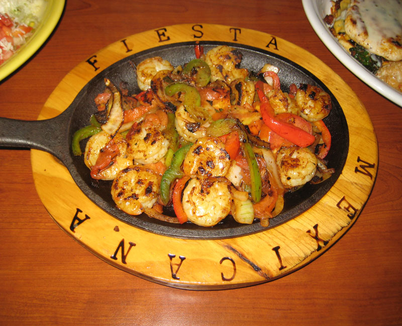Shrimp Fajitas Youngsville